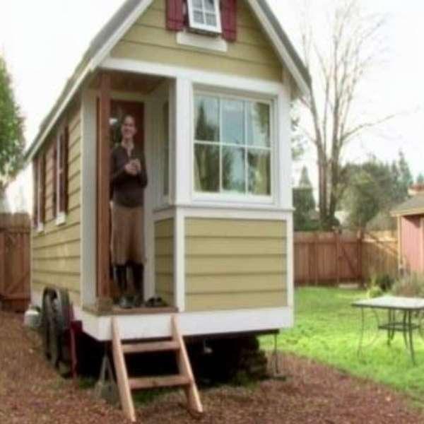 Una propuesta para ahorrar espacios las mini casas - Ahorrar para una casa ...
