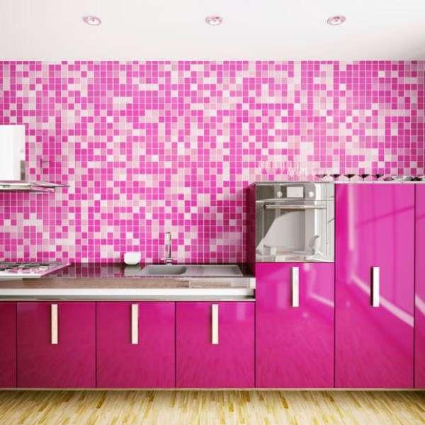 C mo proteger la pared de tu cocina - Como limpiar las baldosas de la cocina ...