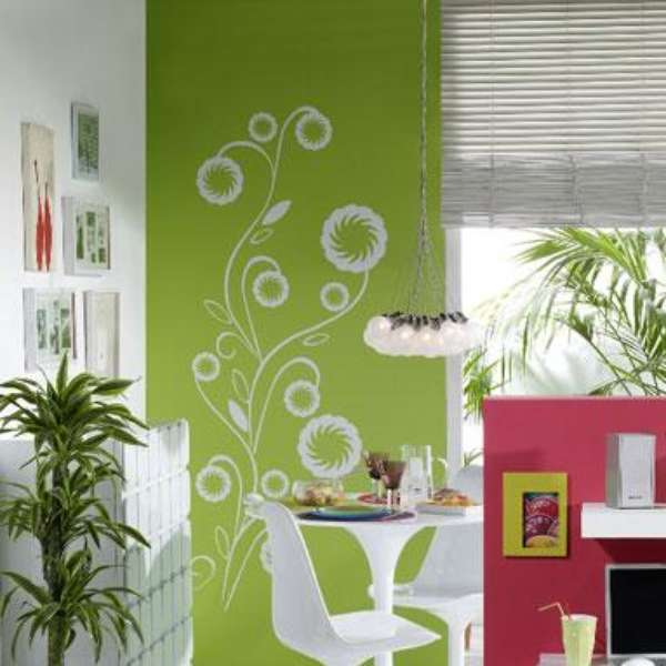 Decoraci n brasile a en tu hogar for Decoracion hogar verde