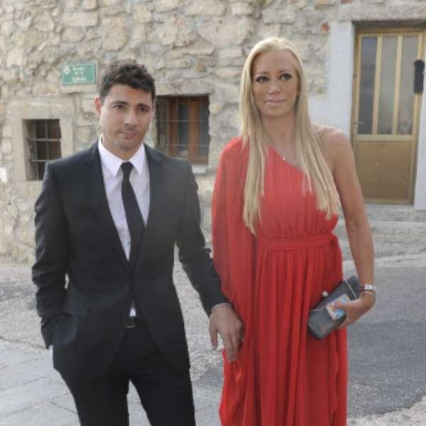 Belén Esteban y Fran Álvarez, juntos en la boda de Toño