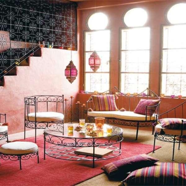 Decoraci n estilo marroqu toque vanguardista para tu casa for Mobiliario marroqui