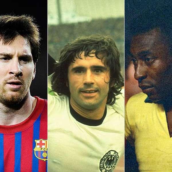 Calendar Year Top Scorers : The top goal scorers in a single year