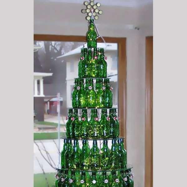Rboles de navidad hechos en casa tendencia muy original - Ver arboles de navidad ...