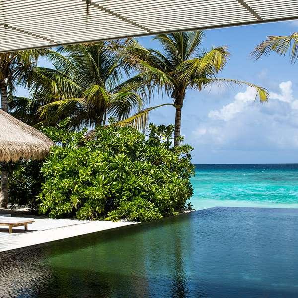 Hoteles de lujo que ser n inaugurados en 2013 for Hoteles super lujo maldivas
