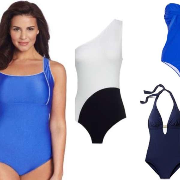 Vestidos De Baño Azul Rey:El vestido de baño indicado según tu tipo de cuerpo