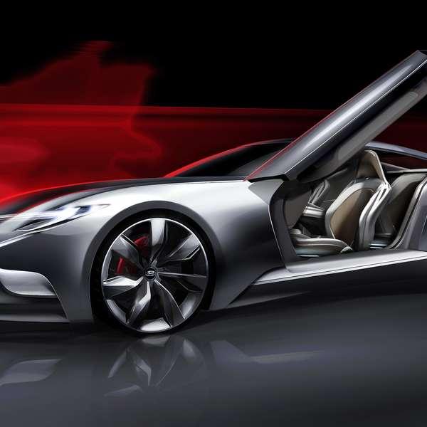 Hyundai Divulga Imagens De Novo Modelo Esportivo De Luxo