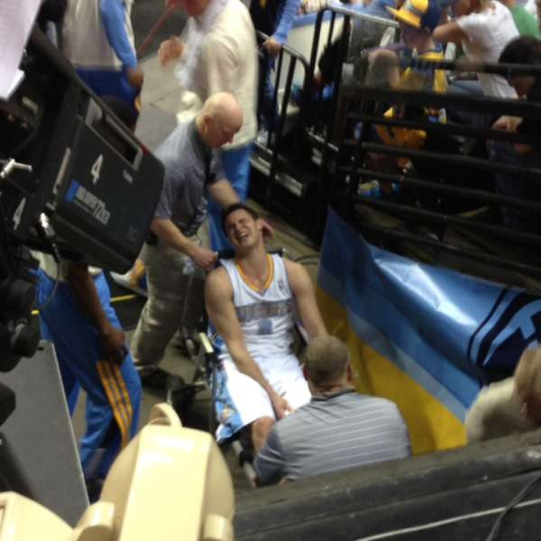 Nuggets Lose: Denver Nuggets Lose Danilo Gallinari To Knee Injury