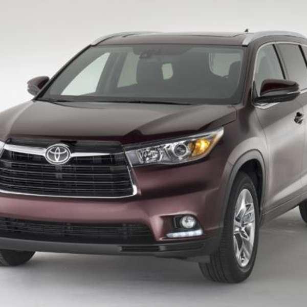 Pictures Of Toyota Highlander: Fotos Toyota Highlander 2014