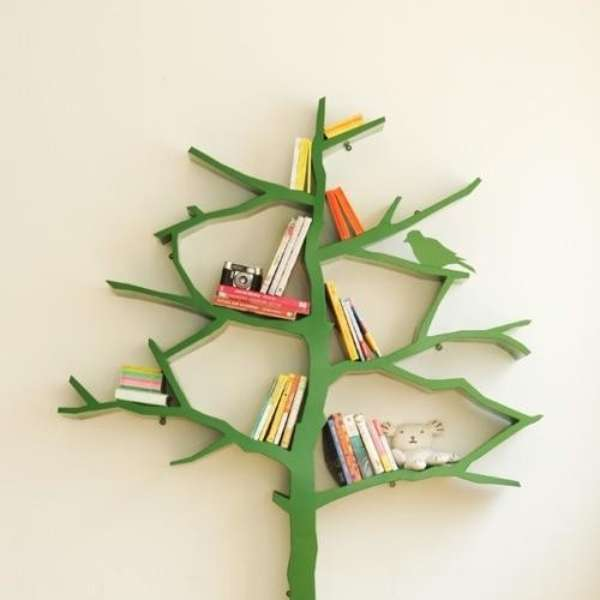 Ideas de libreros originales para tu hogar for Ideas originales para el hogar