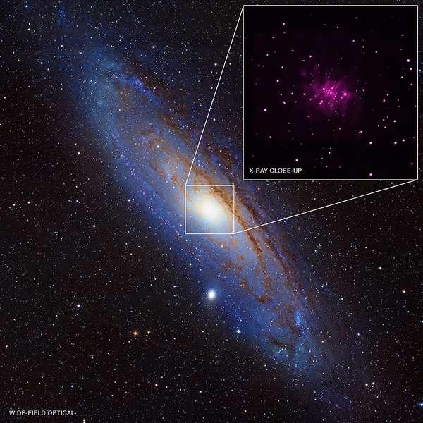 Quantidade inédita de buracos negros é descoberta perto da ...