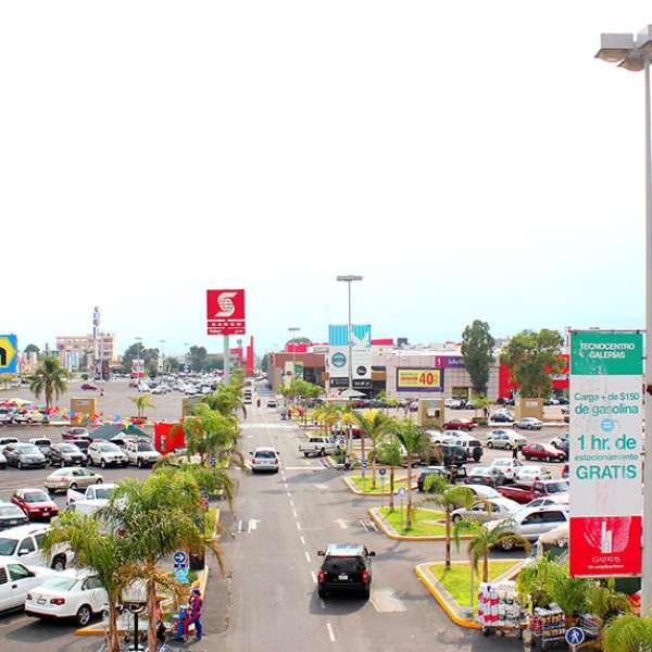 Centro Comercial Galerias: El Moderno Centro Comercial Galerías De Aguascalientes