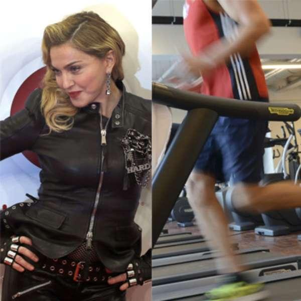 El nuevo gimnasio de madonna la reina del pop en fotos for Gimnasio nuevo estilo