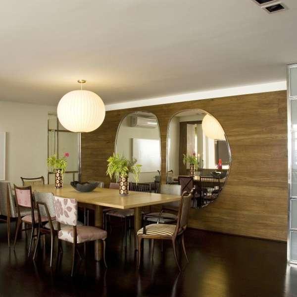 Decorar Sala Pequena Com Espelhos ~ Espelho na sala de jantar decora e amplia ambiente; confira projetos