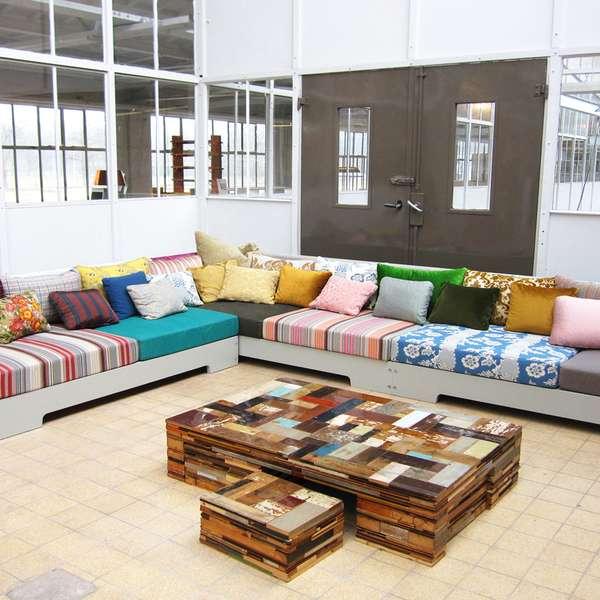 Fabulosos muebles en materiales de desecho - Materiales de muebles ...