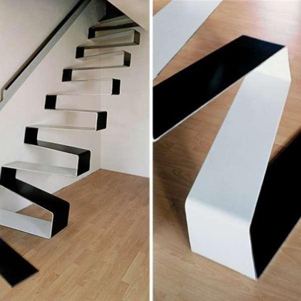 Dise o de interiores escaleras de dise os hermosos - Escaleras de diseno ...