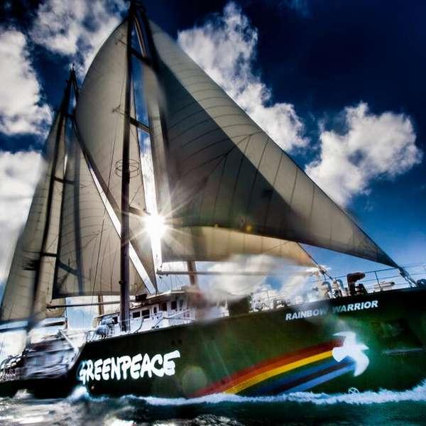 Rainbow Warrior I Ii Y Iii Greenpeace: Barco Rainbow Warrior De Greenpeace Llega A México