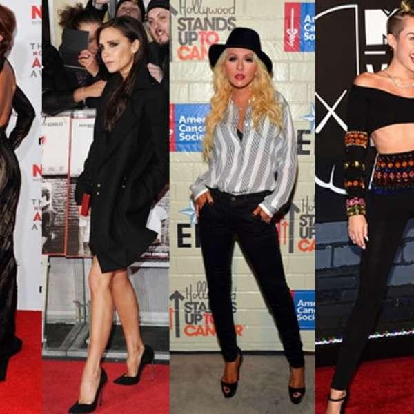 Eva Méndez, Miley Cirus famosas que posan con sellos propios