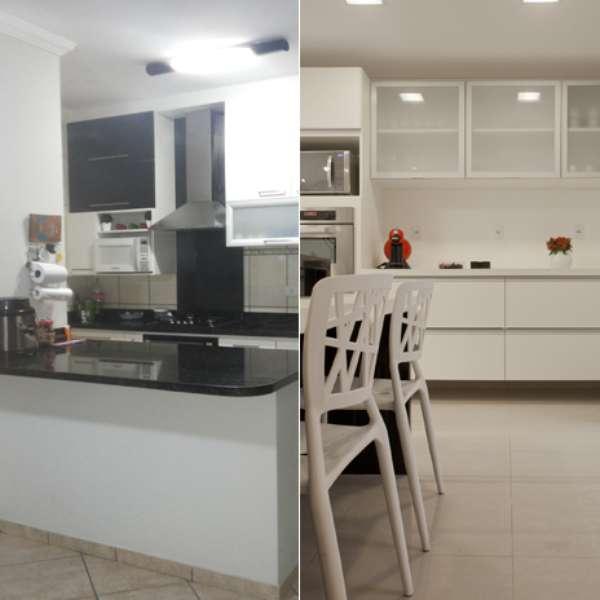 Terra Decora veja passo a passo como mudar cara da cozinha # Cozinha Decorada Terra Nova