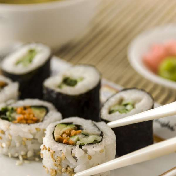 Recetas de cuaresma sushi de pepino un platillo delicioso - Cocinar sushi facil ...