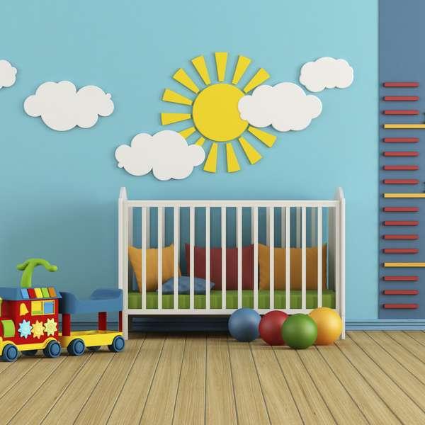 Dise o de paredes para habitaciones infantiles - Diseno de habitaciones infantiles ...