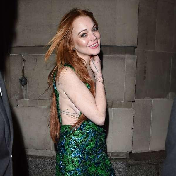 Lindsay Lohan nackt, Oben ohne Bilder, Playboy Fotos,