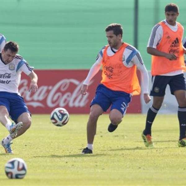 Argentina realiza ltimo entrenamiento en su pa s antes for Ventanas hacia el vecino argentina