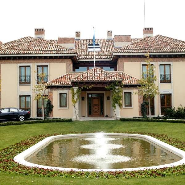 As es la casa donde vivir n los nuevos reyes de espa a - Casa de los reyes de espana ...