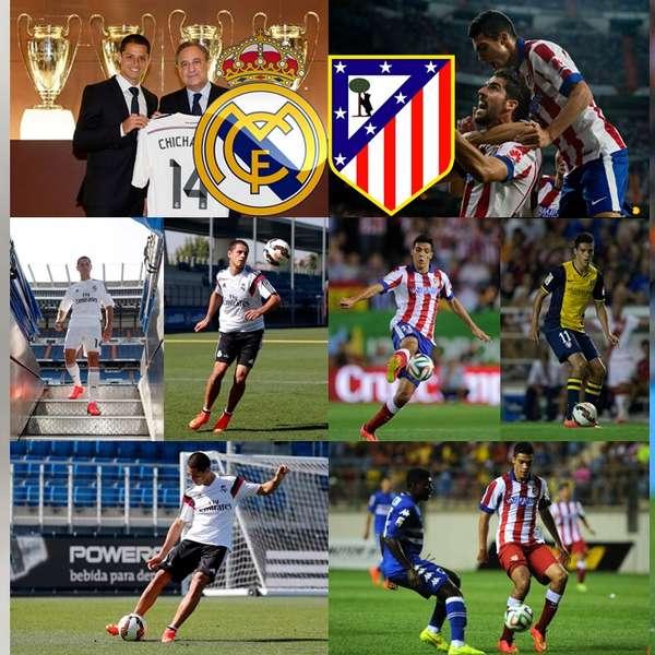 Javier Hernandez Real Madrid: Real Madrid Vs. Atlético: 'Chicharito' Vs. Raúl Jiménez