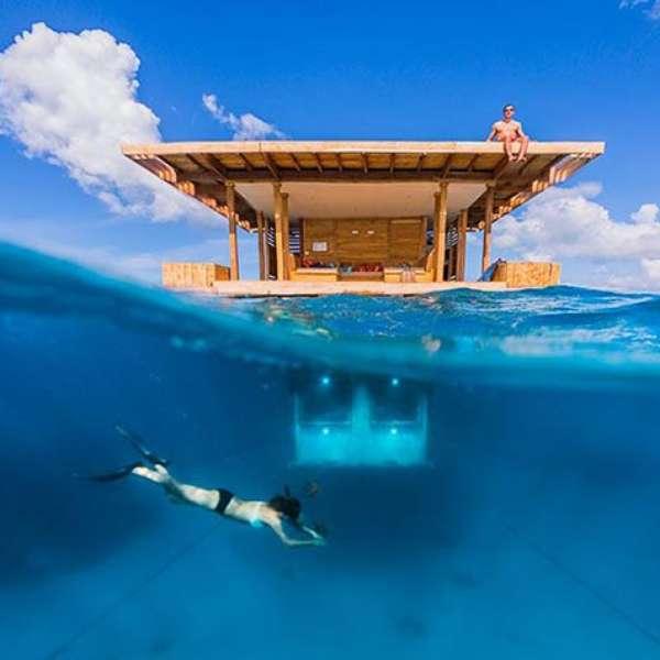 Los 7 mejores hoteles bajo el agua de dub i a las maldivas for El hotel que esta debajo del agua