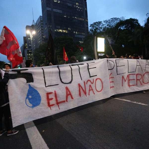 Paulistanos reclamam da falta de água e de energia elétrica - Terra Brasil