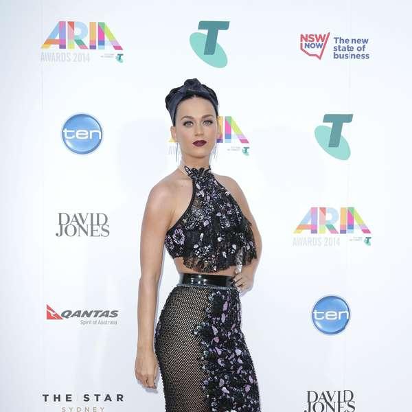 Katy perry acude sin ropa interior a los premios aria en australia - Commando ropa interior ...