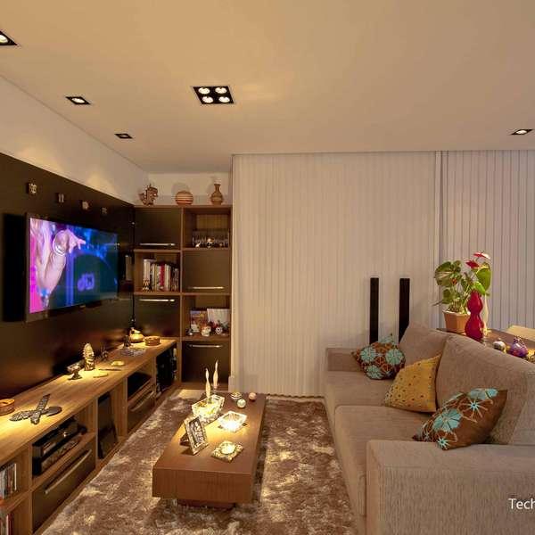 Tamanho Ideal De Tv Para Sala Pequena ~ Terra Decora aprenda a otimizar o espaço da sala com sofás