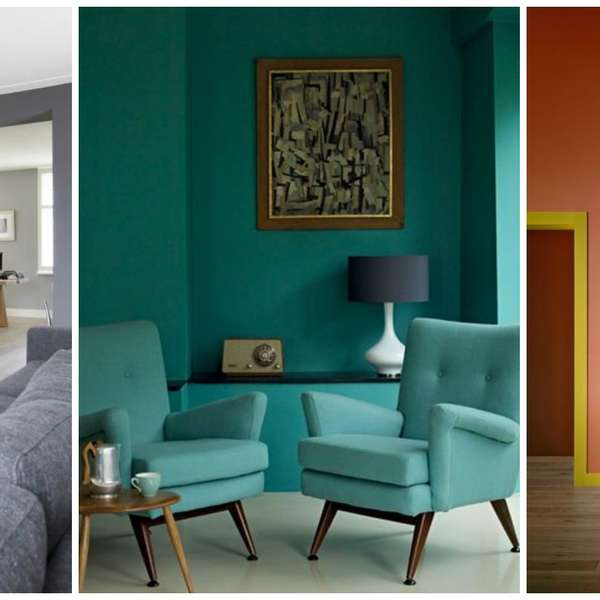 Decoraci n colores para pintar paredes o muros de - Tendencias en colores para interiores 2015 ...