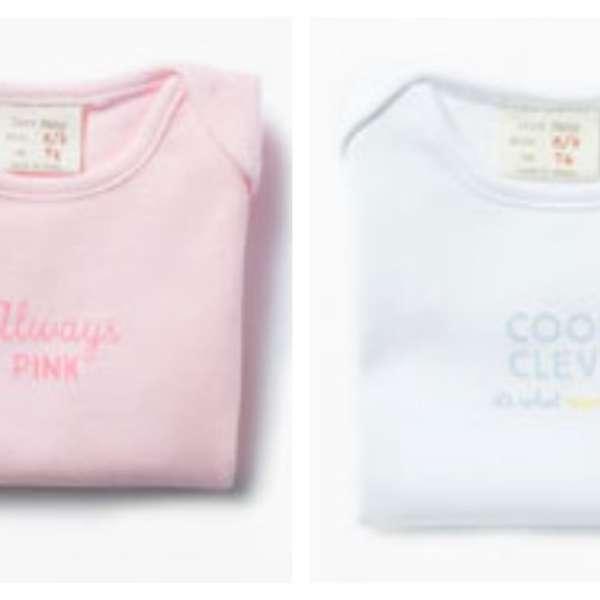 Zara lanza ropa interior para bebés con mensajes sexistas