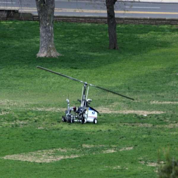 Aeronave no identificada aterriza fuera del capitolio for Capitolio eventos jardin