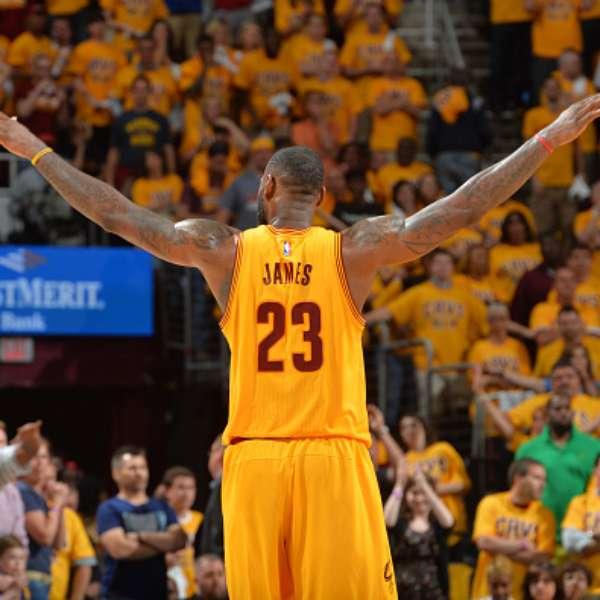 NBA Playoffs: LeBron James pone a los Cavaliers a un paso ...