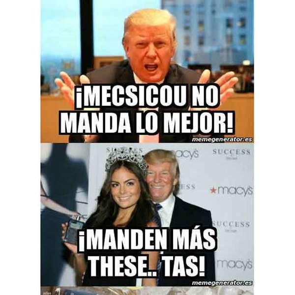 Memes de Donald Trump por sus críticas y declaraciones vs ...