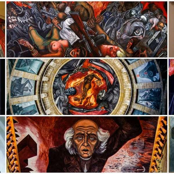 Jos clemente orozco murales pinturas y obras m s famosas for El mural guadalajara avisos de ocasion