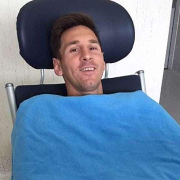 Messi y el mensaje de aliento para sus compañeros