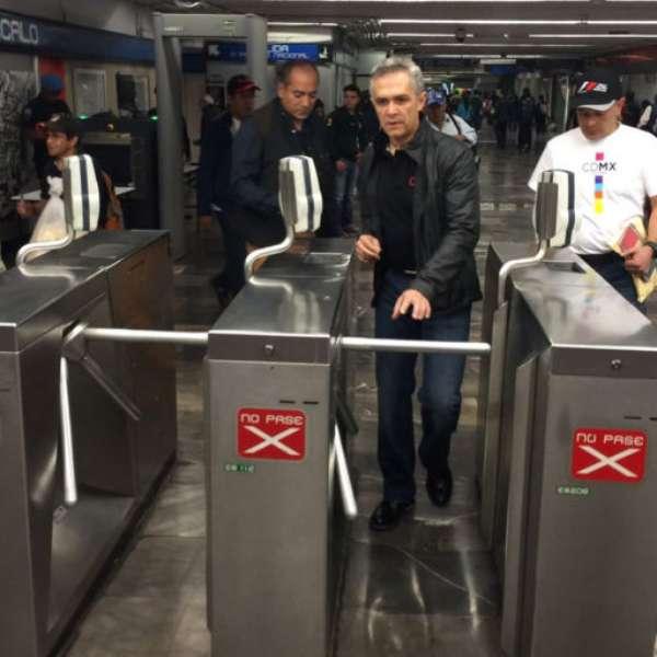 Gran Premio De M Xico Stc Miguel Ngel Mancera Viaja En Metro