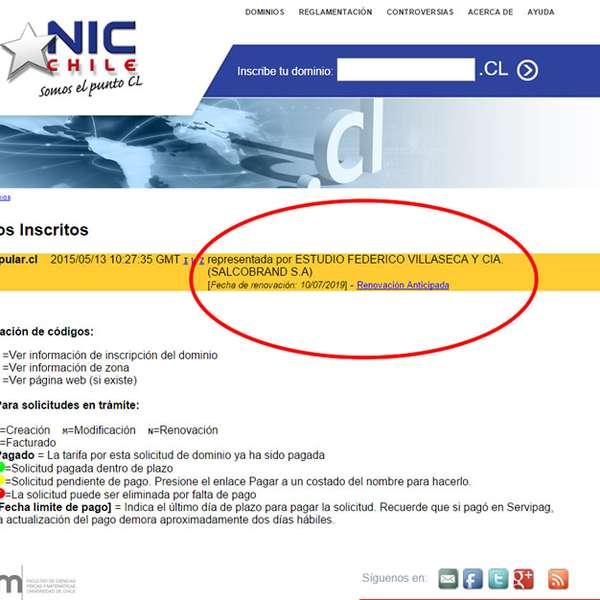 "Salcobrand inscribe dominio ""Farmacia Popular"" en Nic Chile"