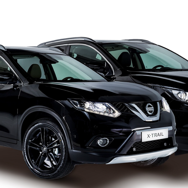 nissan presenta en madrid a qashqai y x trail black edition. Black Bedroom Furniture Sets. Home Design Ideas
