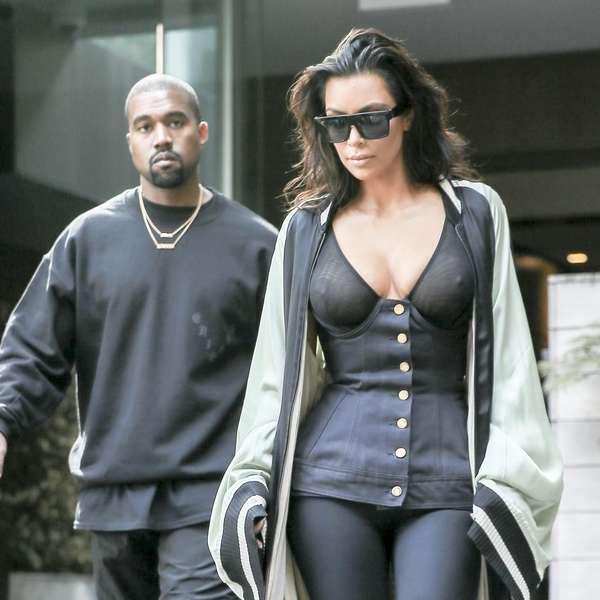 kim kardashian sin sost n pasea en nueva york fotos. Black Bedroom Furniture Sets. Home Design Ideas