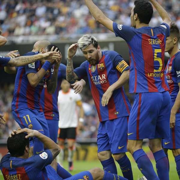 Barcelona Vs Valencia En Vivo La Liga 2017 Online Futbol