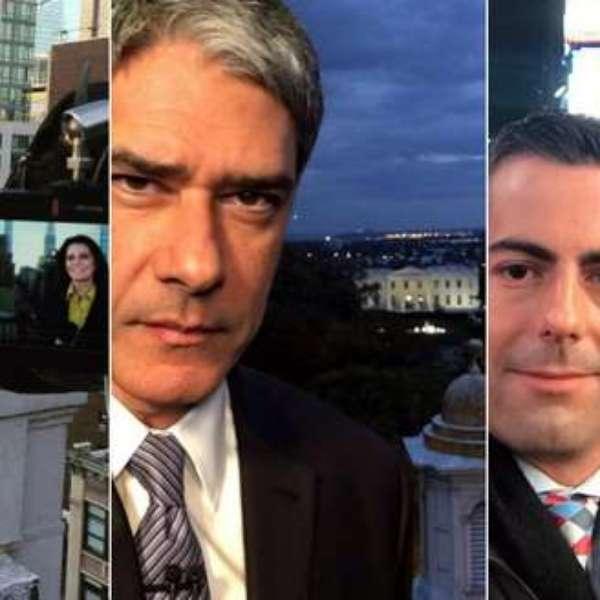 Blog Sala De Tv Terra ~ 11 fotos de jornalistas brasileiros na eleição americana