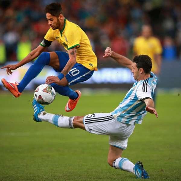 juegos de futbol argentina vs brasil
