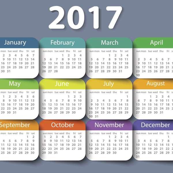 ... 2017 calendario dias de descanso no laborables oficiales Mexico