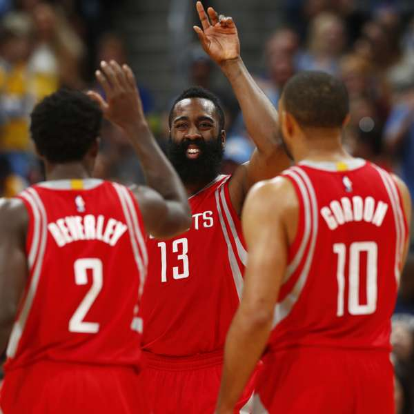 Denver Nuggets Quinteto: Harden Logra 'triple Doble' Y Rokets Ganan A Nuggets