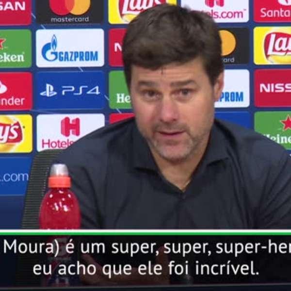 """TOTTENHAM: Pochettino Sobre Lucas Moura: """"É Super-herói"""""""