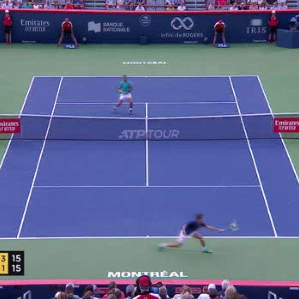 ATP Montreal: Nadal venceu Pella (6-3 6-4)